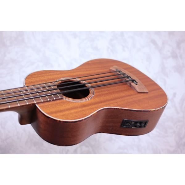 Kala UBASS-SMHG All Solid Mahogany Electro-Acoustic Bass Ukulele
