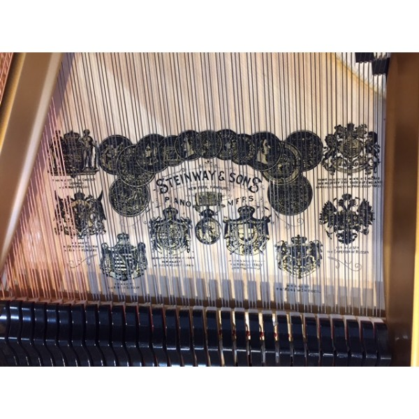 Steinway Model A Grand Piano in Rosewood Polish (Re-Built)