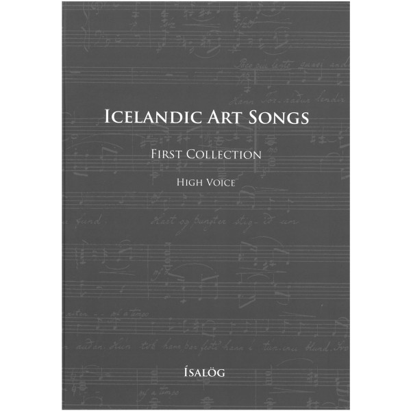 Icelandic Art Songs, First Collection (High Voice)