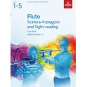 ABRSM Grades 1–5 Flute Scales & Arpeggios and Sight-Reading from 2018