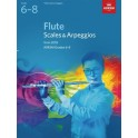 ABRSM Grades 6–8 Flute Scales & Arpeggios from 2018