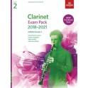 ABRSM Grade 2 Clarinet Exam Pack 2018–2021