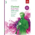 ABRSM Grade 3 Clarinet Exam Pack 2018–2021