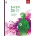 ABRSM Grade 4 Clarinet Exam Pieces 2018–2021