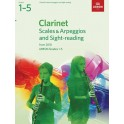ABRSM Grades 1–5 Clarinet Scales & Arpeggios and Sight-Reading from 2018
