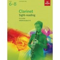 ABRSM Grades 6–8 Clarinet Sight-Reading Tests from 2018