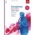 ABRSM Grade 1 Saxophone Exam Pack 2018–2021