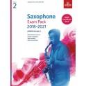 ABRSM Grade 2 Saxophone Exam Pack 2018–2021