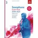 ABRSM Grade 3 Saxophone Exam Pack 2018–2021