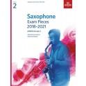 ABRSM Grade 2 Saxophone Exam Pieces 2018–2021