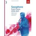 ABRSM Grade 3 Saxophone Exam Pieces 2018–2021