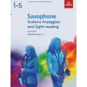 ABRSM Grades 1–5 Saxophone Scales & Arpeggios and Sight-Reading from 2018
