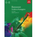 ABRSM Grades 6–8 Bassoon Scales & Arpeggios from 2018