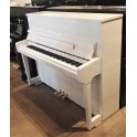 Wilhelm Schimmel W114T Upright Piano in White Polyester