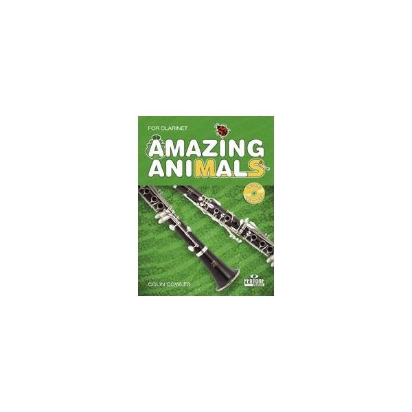 Cowles, Colin - Amazing Animals (Clarinet)