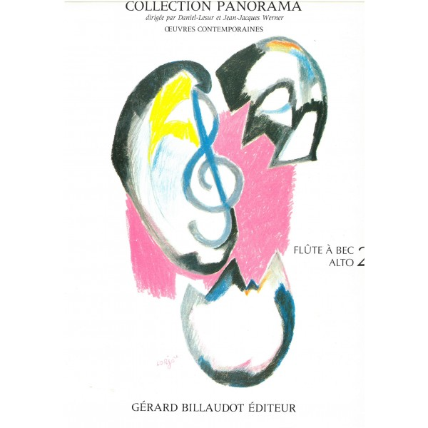 Collection Panorama: Flute a bec alto (Treble Recorder), Vol. 2