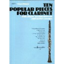 Ten Popular Pieces for Clarinet - Druce, Clare