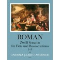 Roman, Johan H - 12 Sonatas, Book One