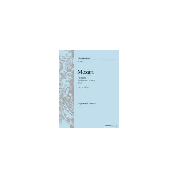 Mozart, W A - Flute Concerto in D major, K314
