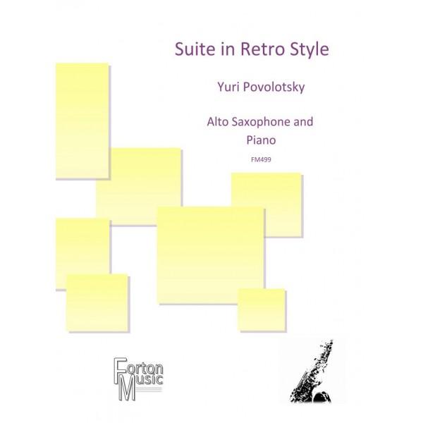 Povolotsky, Yuri - Suite in Retro Style (Alto Saxophone & Piano)