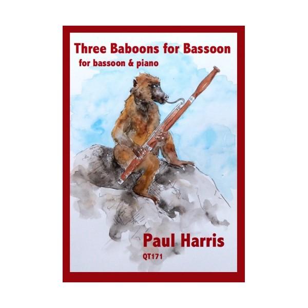 Harris, Paul - 3 Babboons for Bassoon
