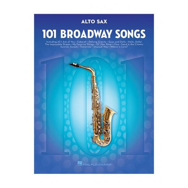 101 Broadway Songs (Alto Saxophone)