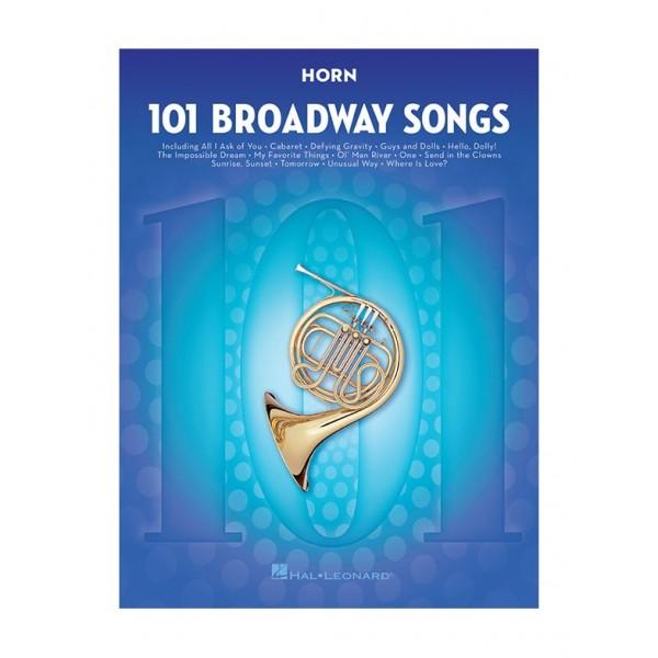 101 Broadway Songs: Horn
