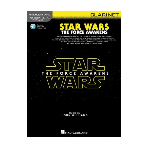 Williams, John - Star Wars: The Force Awakens for Clarinet (Play-Along)