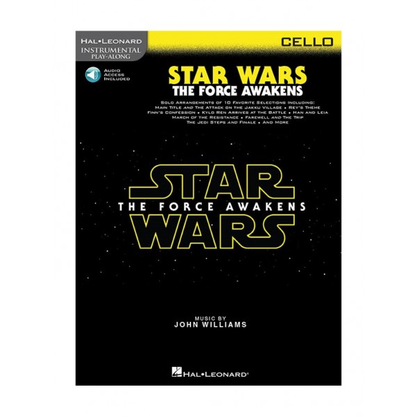 Williams, John - Star Wars: The Force Awakens for Cello (Play-Along)