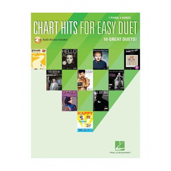 Chart Hits For Easy Duet (Piano Duet)
