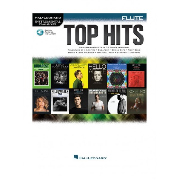 Top Hits - Flute Play-Along