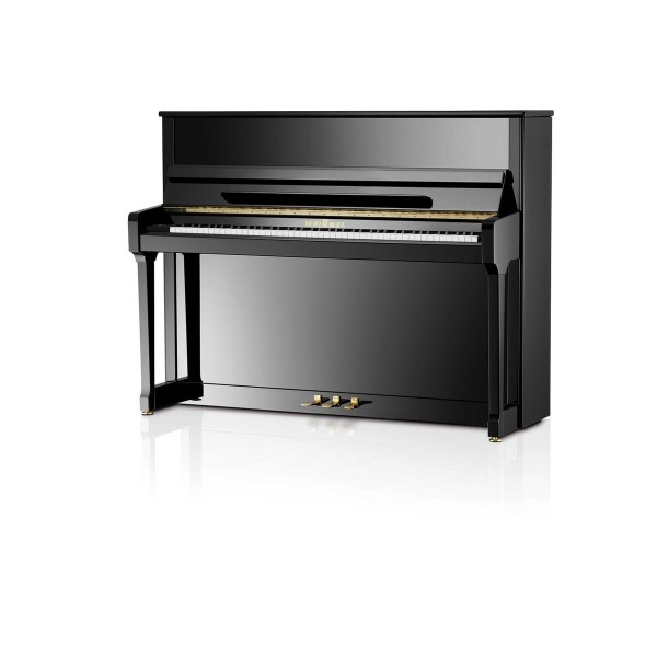 Schimmel C116T Twin Tone Silent Black Polished Upright Piano