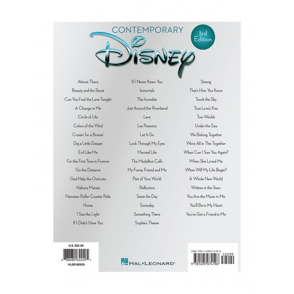 Contemporary Disney - 50 Favorite Songs (3rd Edition)
