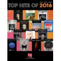 Top Hits of 2016 (Piano, Vocal, Guitar)