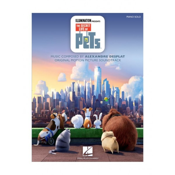 Desplat, Alexandre - The Secret Life Of Pets (Piano Solo)