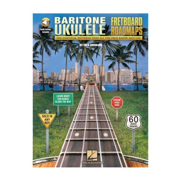 Fretboard Roadmaps (Baritone Ukulele)