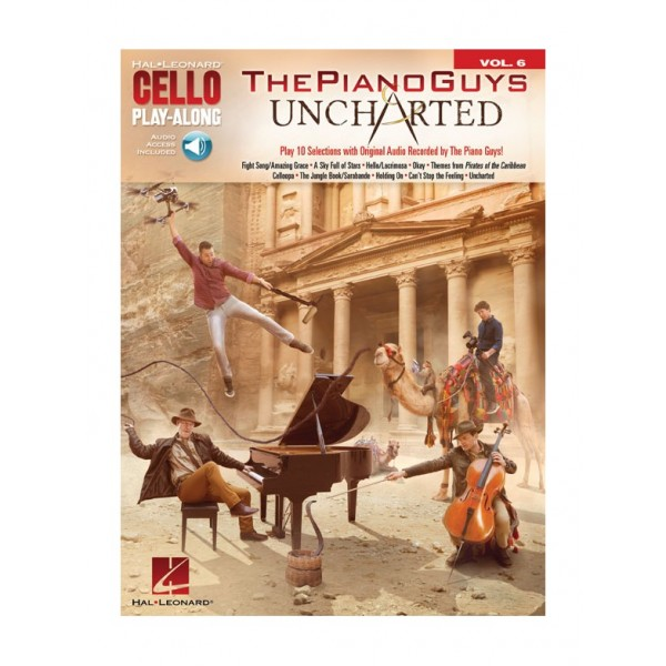 Piano Guys, The - Uncharted (Cello Play Along)
