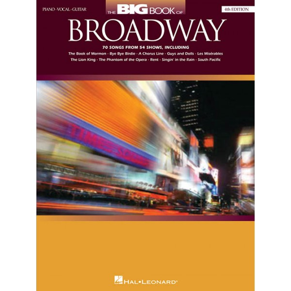 The Big Book Of Broadway (4th Edition)