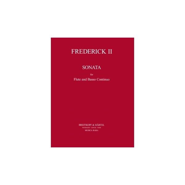 Frederick II - Sonata in Bb Major Spitta No. 76