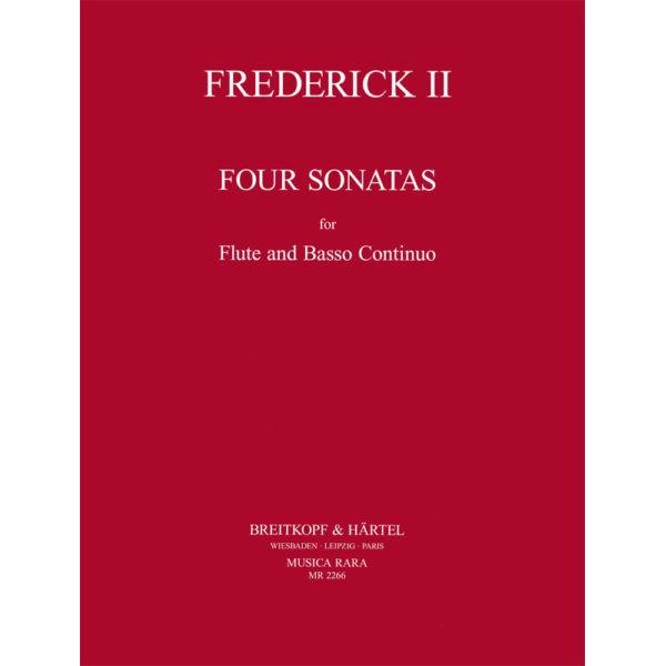 Frederick II - Sonata in C Major Spitta No. 40