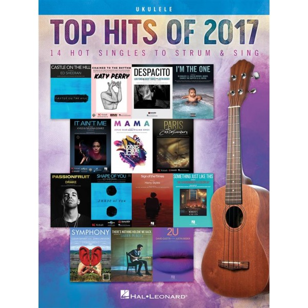 Top Hits of 2017 (Easy Piano)