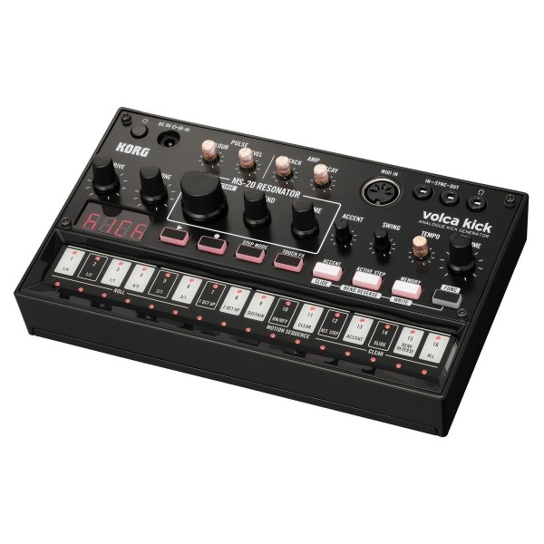 KORG VOLCA KICK analogue drum machine with step sequencer