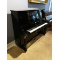 Yamaha U5 upright piano in black polyester