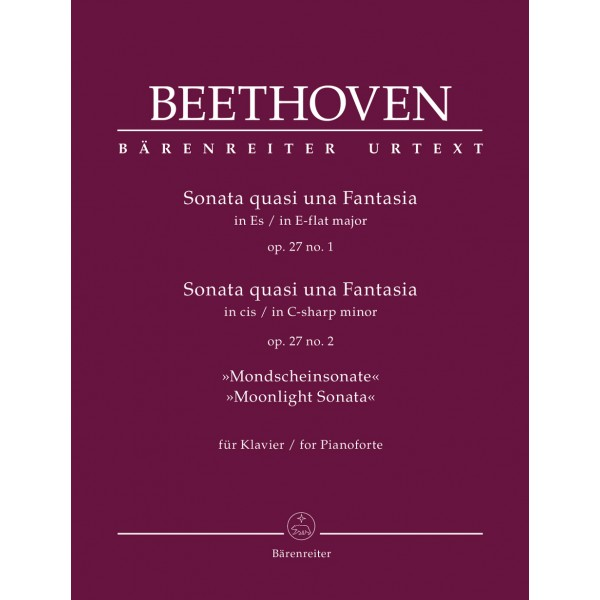 Beethoven - Two Piano Sonatas Op. 27 (Moonlight)