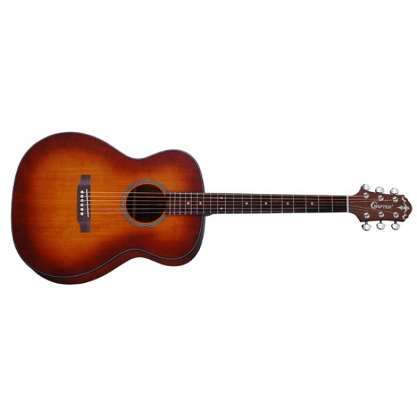 Crafter Hilite T-CD/VTG Vintage Burst Acoustic Guitar
