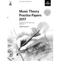 ABRSM Music Theory Practice Papers 2017 - Grade 4 (Four)
