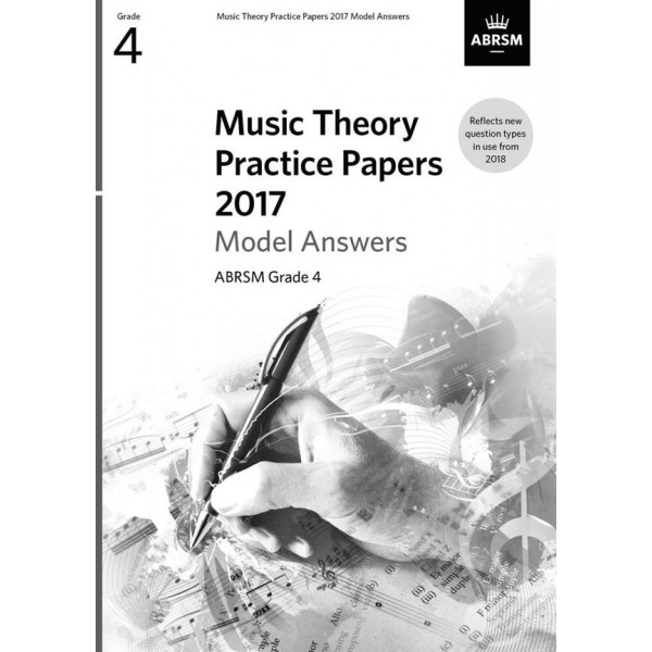 ABRSM Music Theory Practice Papers 2017 Answers, Grade 4 (Four)
