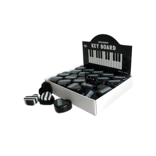 Eraser (Black Keyboard Heart)