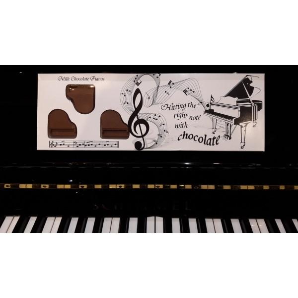 Belgian Chocolates - Box Of Pianos