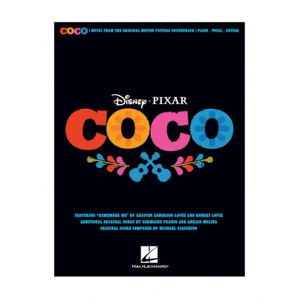 Disney Pixar's Coco (Piano, Vocal, Guitar)